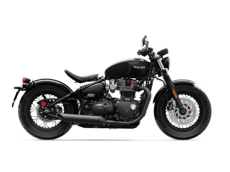 2020 Triumph Bonneville Bobber Black Jet Black